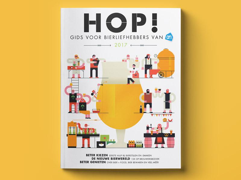 Biermagazine HOP! Albert Heijn 2017