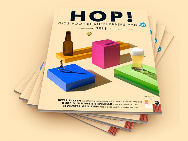 Biermagazine HOP! Albert Heijn 2018